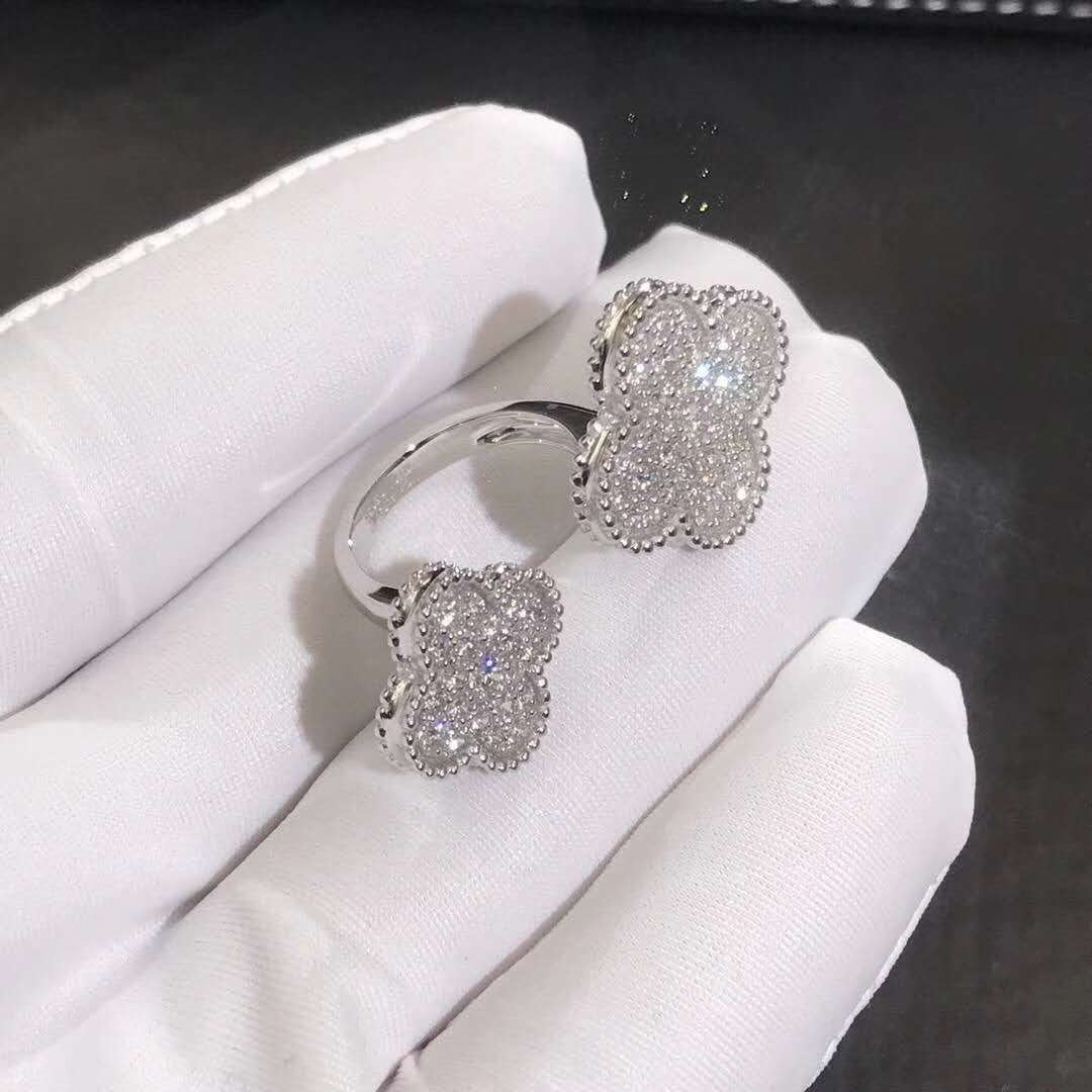 Van Cleef Amp Arpels Magic Alhambra Between The Finger Ring