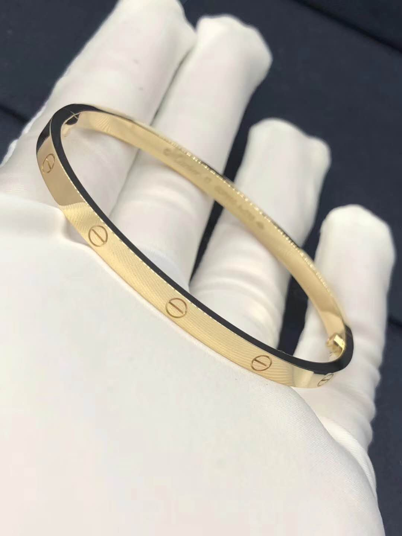 18K gold Cartier Love bracelet, SM/small model